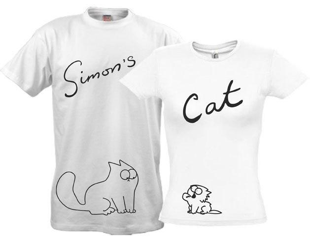 Саймон кот футболка