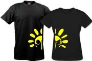Парные футболки солнышко