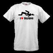 Футболка I love sushi