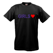 Футболка Люблю девушек