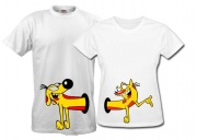 Парные футболки Котопес