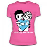 Футболка Love is 21