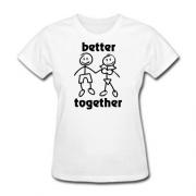 Футболка Better together