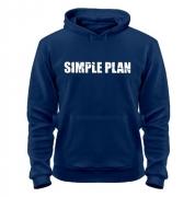 Толстовка с надписью Simple plan