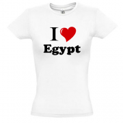 Футболка I love egypt