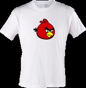 футболка Красная птица