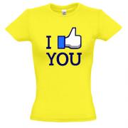 футболка I like you