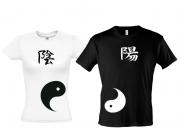 Парные футболки Инь - Янь