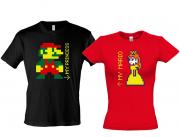 Парные футболки Марио