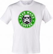 Футболка Сoffee Star wars