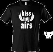 Футболка Kiss my airs