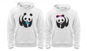 Парные толстовки Панды
