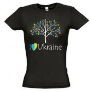 Футболка I love Ukraine