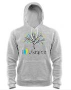 Кенгурушка I love Ukraine (дерево)