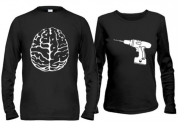 Парные кофты Мозг и дрель