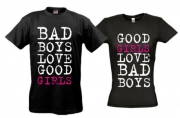 Футболки Bad boys - bad girls