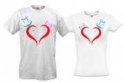 Парные футболки Love-story-2