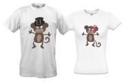 Две футболки Обезьянки