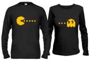 Кофты для влюбленных Pac - man