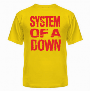 Майка System of a down