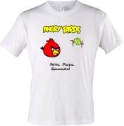 Майка Angry birds, Лето - жара..