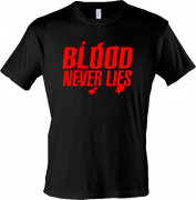 "Майка ""Blood never lines"""