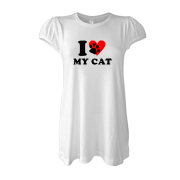 Туника I love my cat