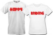 Парные футболки Yfppy-ending