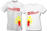 Парные футболки Мое-солнышко