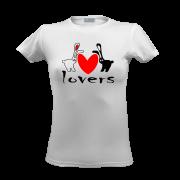 Футболка Влюбленные зайцы