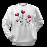 Реглан Сердца-цветы