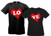 Парные футболки Love 2