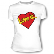 Футболка Love is 12