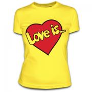 Футболка Love is 27