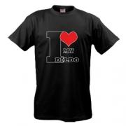 Футболка I love my dildo