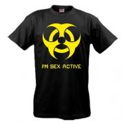 Футболка Sex active