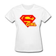 Футболка для девушек Supergirl