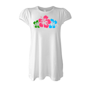Туника Цветы на груди