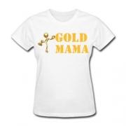 Футболка Gold мама