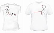 Парные футболки Семья