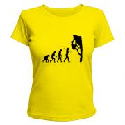 Майка  Эволюция альпиниста