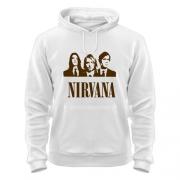 Кофта с капюшоном для фанов Nirvana