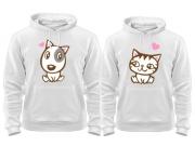 Комплект толстовок Doggy Kitty in Love