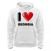 Толстовка I love Georgia