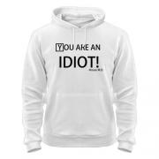 Толстовка You are an idiot. House M.D