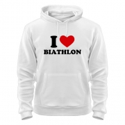 Толстовка I love Biathlon