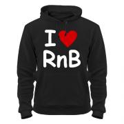 Толстовка I love rnb
