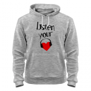 Толстовка Listen your music