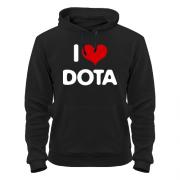 Капюшонка i love Dota