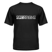 Футболка Scorpions (серебро)